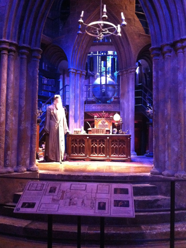 Harry Potter Studio Tour - Dumbledore's Office