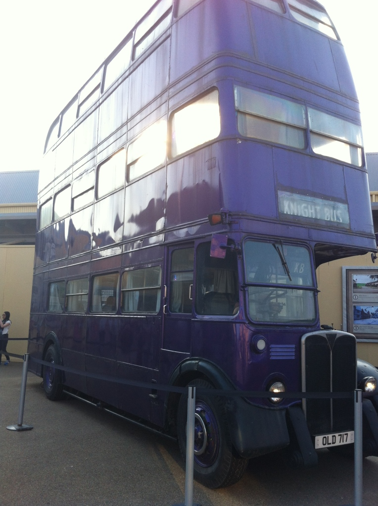 Harry Potter Studio Tour - Knight Bus